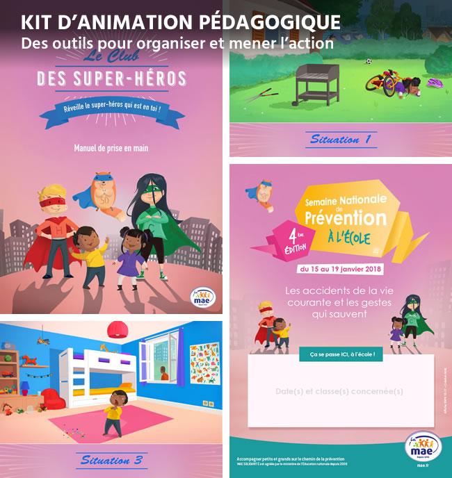 Fabuleux Semaine Nationale de Prévention à l'École, le kit d'animation  RR43